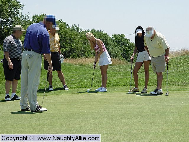 Think, Naked teens on golf course