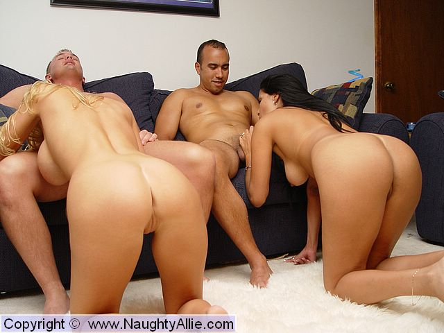 Naughty Allie Group Sex