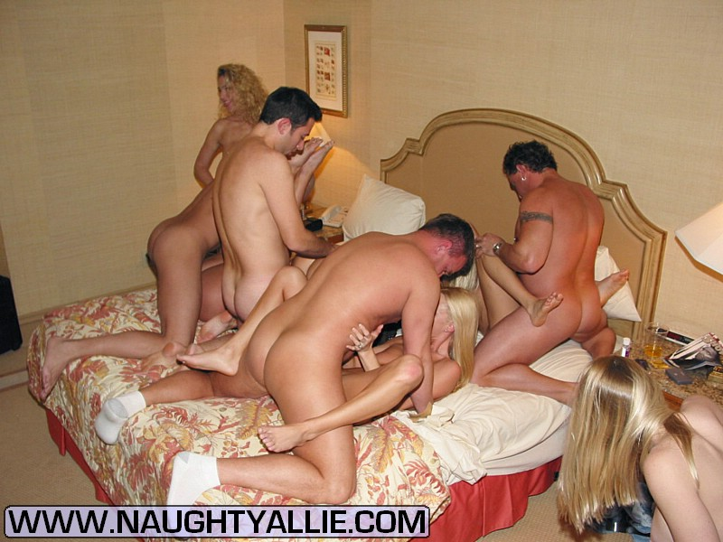 Wild hardcore naughty allie orgy
