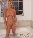 Horny Blonde Wife Fucks The Bathtub Faucet from Naughty Allie
