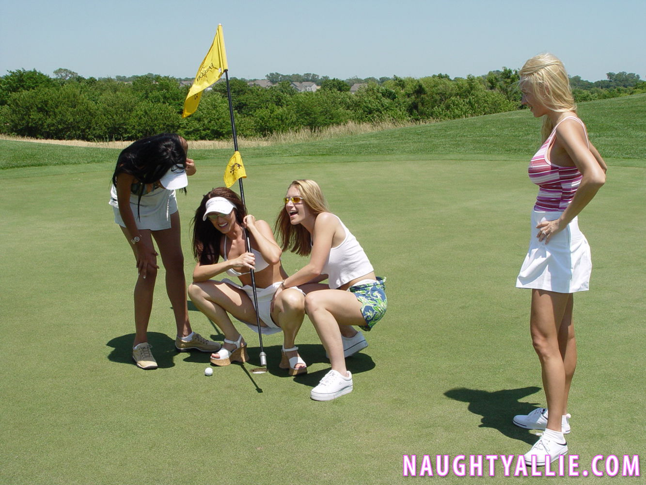 Regret, but Golf caddy sluts pity, that